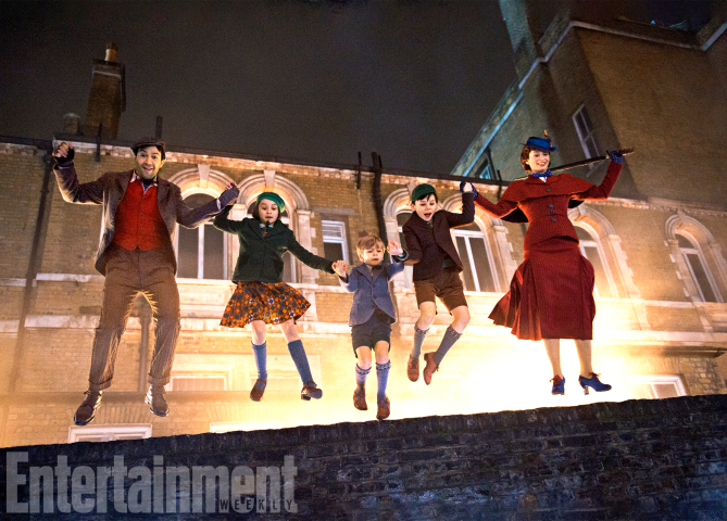 D23 Expo: Fans Get a Neat Little Preview of Mary Poppins Returns