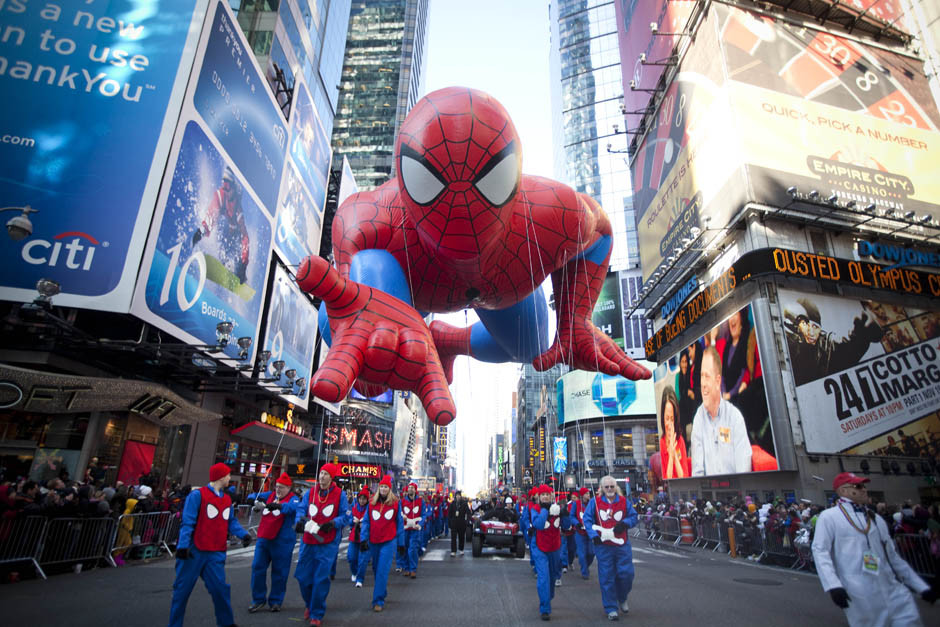 Thanksgiving Day Float - Spiderman