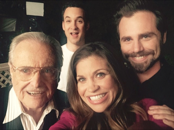 girl meets world feeny and eric Abc news' dan kloeffler has the latest in the pop news midday buzz.