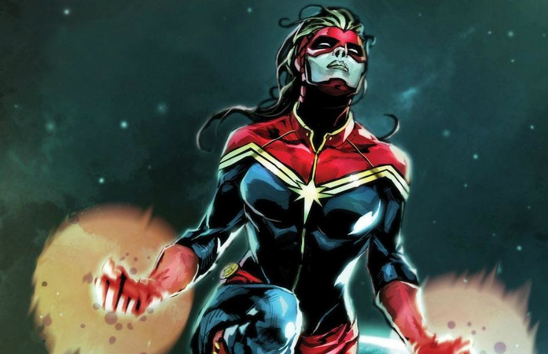 SDCC 2017: Captain Marvel Will Take on Skrulls and the 90s