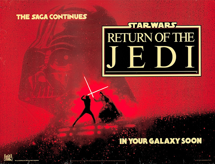 Return of the Jedi Poster 1