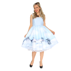 Her Universe , Hoth Pin Up Dress, $150