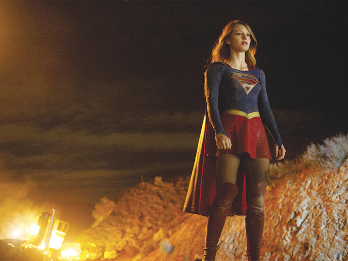 Pilot -- Coverage of the CBS series SUPERGIRL  Photo: Darren Michaels/CBS ©2015 CBS Broadcasting, Inc. All Rights Reserved
