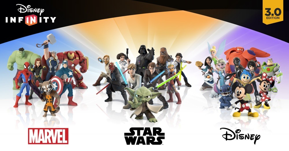 infinity 3 0. E3 - Disney Infinity 3.0 Figures Up Close Welcome To The Legion! | 3 0