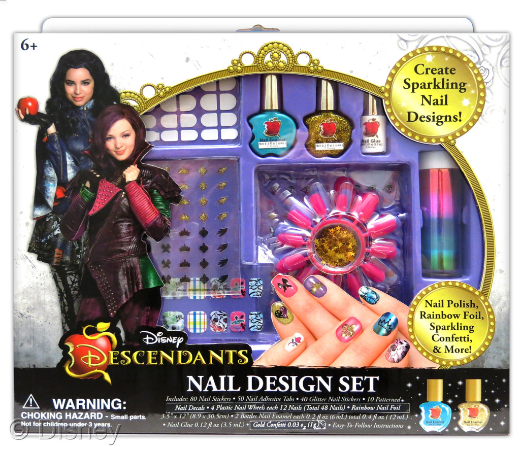 "Descendants Nail Design Set , $14.99 Retailers: Toys ""R"" Us & Kohl's Available: August 15"