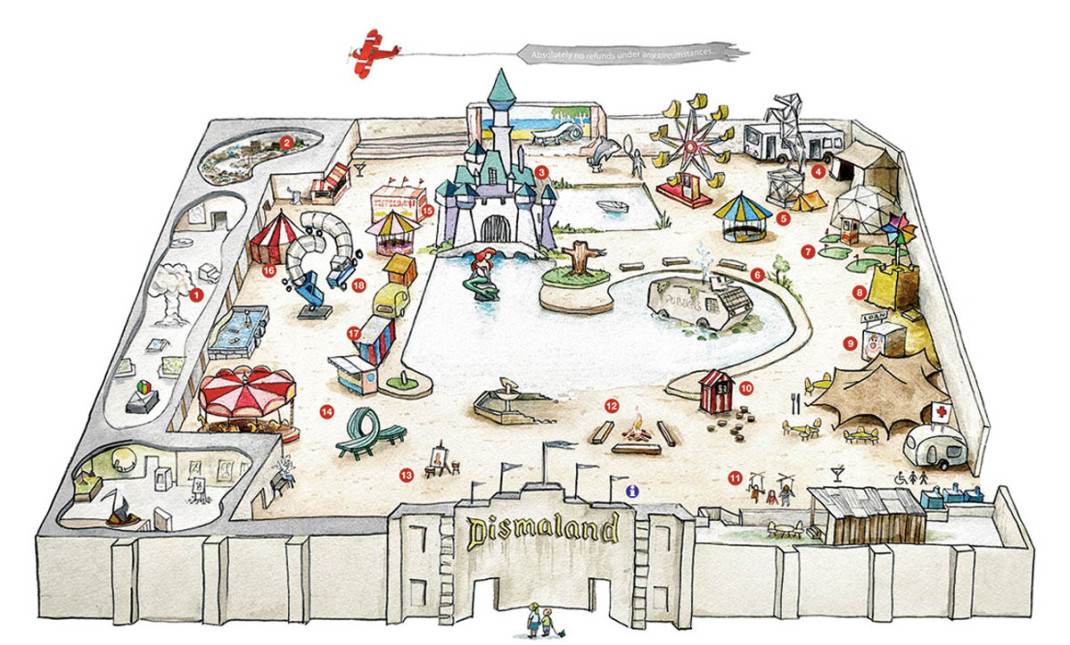 Banksys Dismaland Theme Park Is The Stuff Of Nightmares Welcome