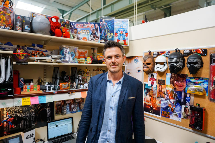 Toys And Co : Hasbro s star wars design director discusses new outlook
