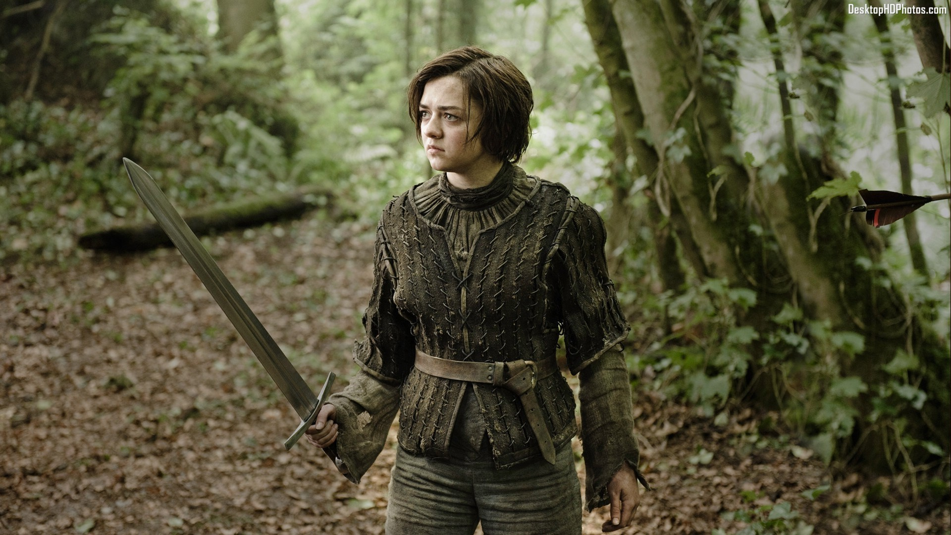 Maisie williams thrones join. agree