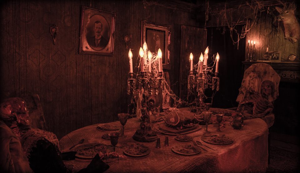 Erebus Haunted House Rooms