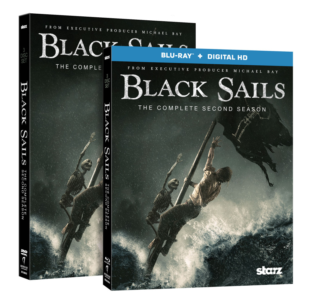 Black Sails S2 Pack Shots