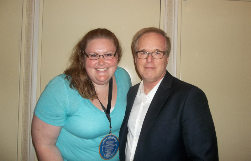 Oh, ya know, just hanging out with Brad Bird!