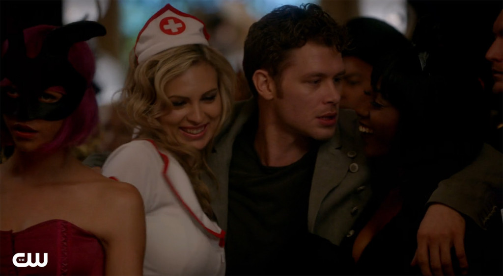 Notice how every girl Klaus has gone for looks just like Caroline?