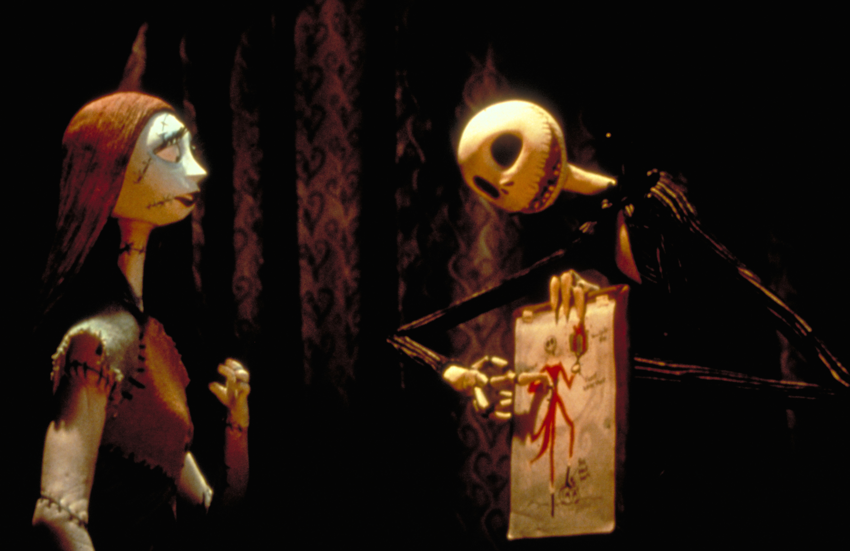 Images of Jack And Sally Movie Scene - #SpaceHero