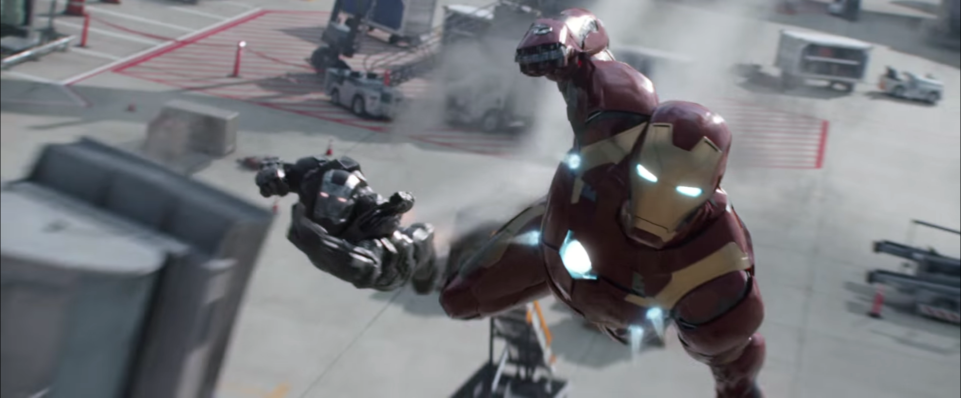 Civil War_Iron Man and War Machine