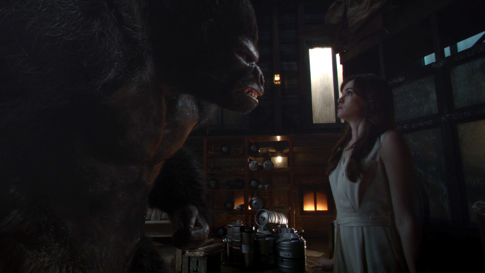 The Flash - Grodd And Caitlin