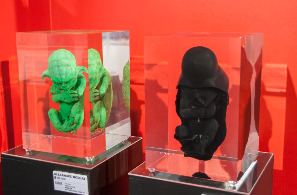Yoda Foetus and Darth Foetus by Alexandre Nicolas