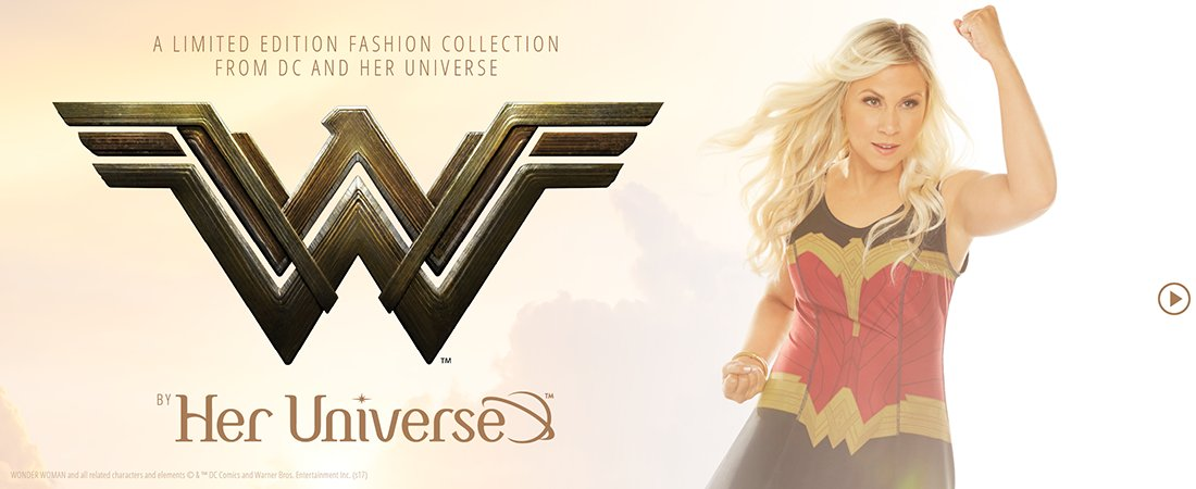 Her Universe Just Released a New Wonder Woman Collection