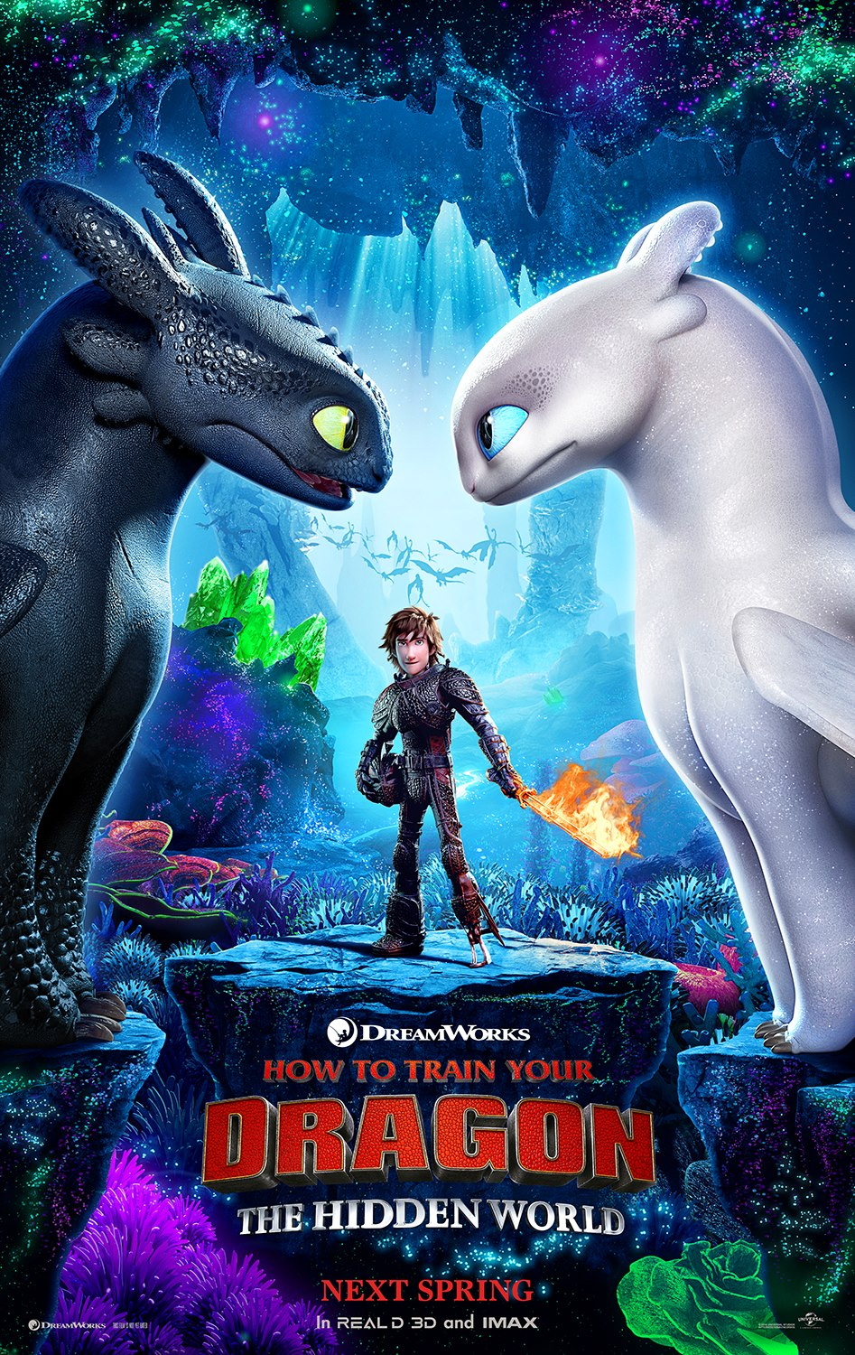 How to Train Your Dragon: The Hidden World Poster Has Dropped!