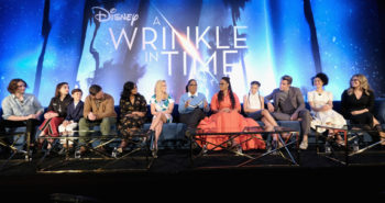 Love and light shine bright at the press conference for A Wrinkle in Time