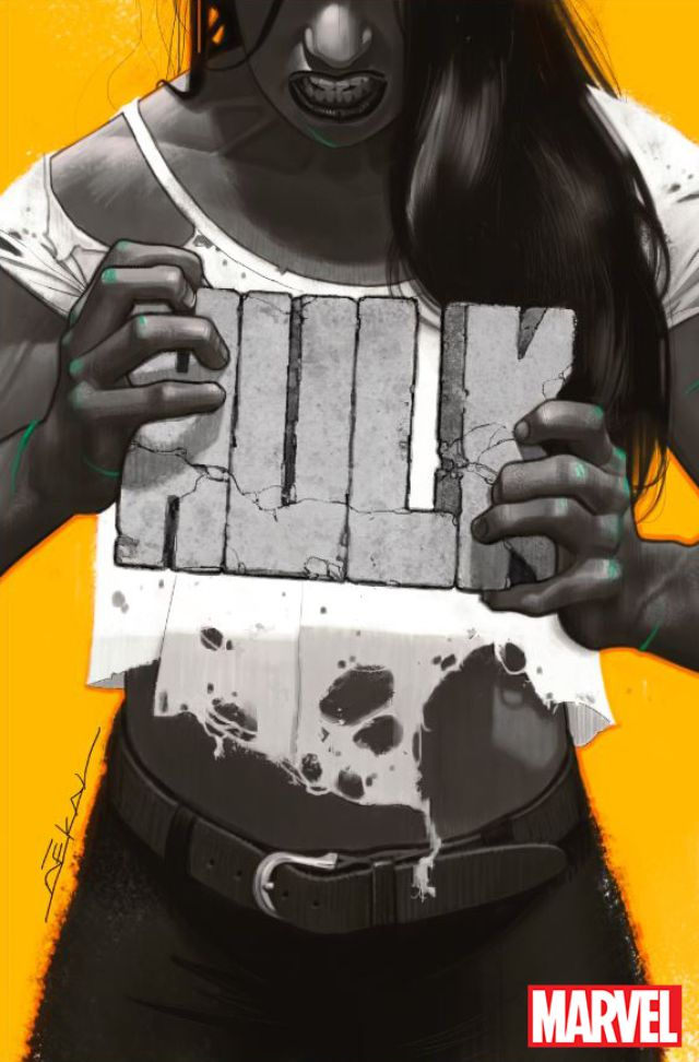 Image: Marvel Comics; Hulk #1 cover by Jeff Dekal
