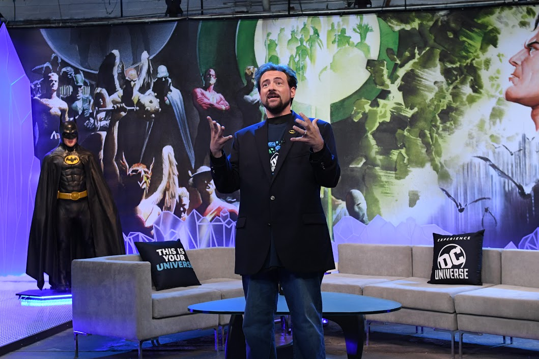 Kevin Smith hosts DC UNIVERSE Launch