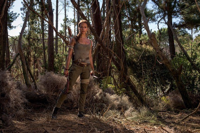 Take a Look at Alicia Vikander as Lara Croft in Tomb Raider