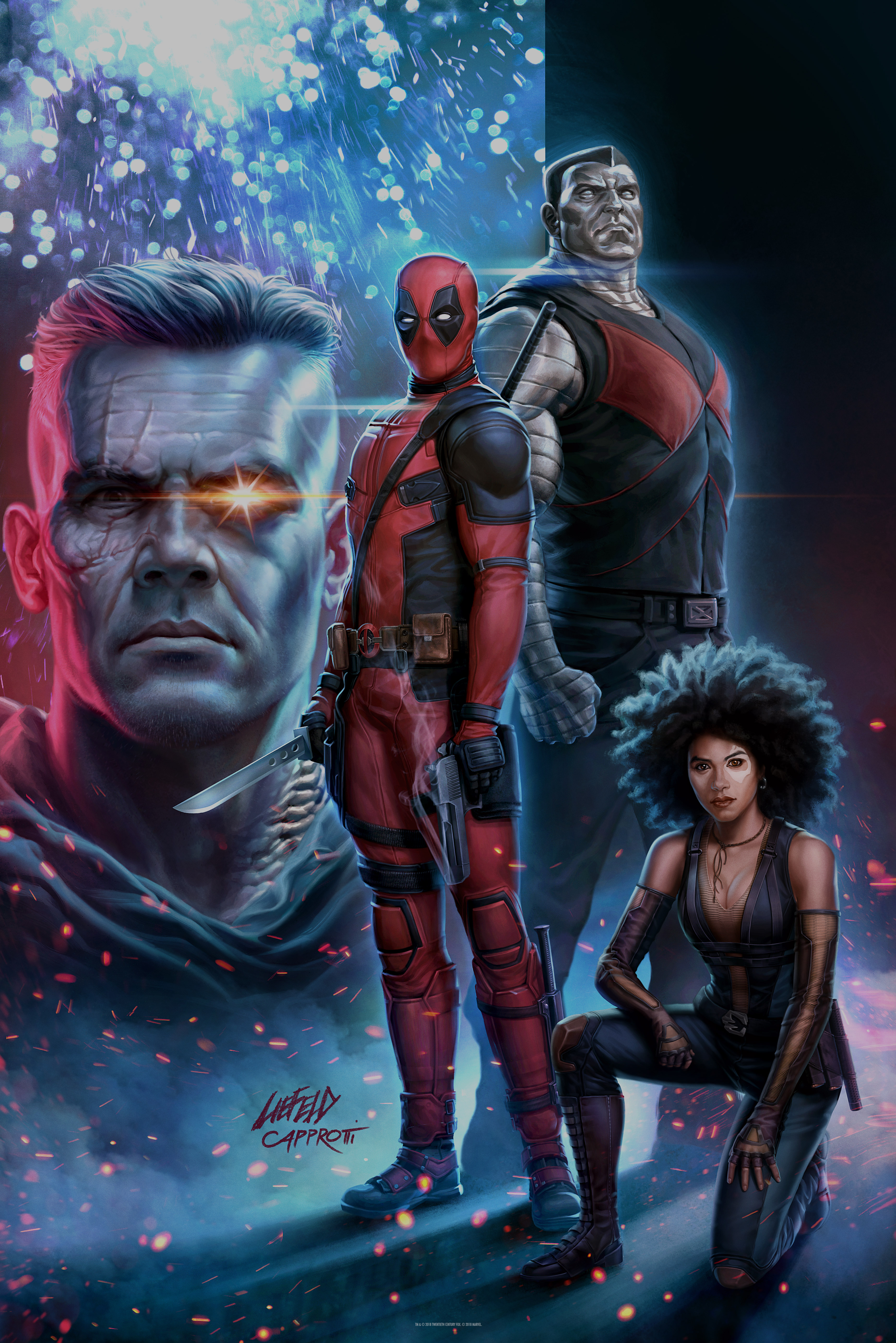 Fandango Exclusive: Rob Liefeld Recreates First Deadpool Cover for Poster