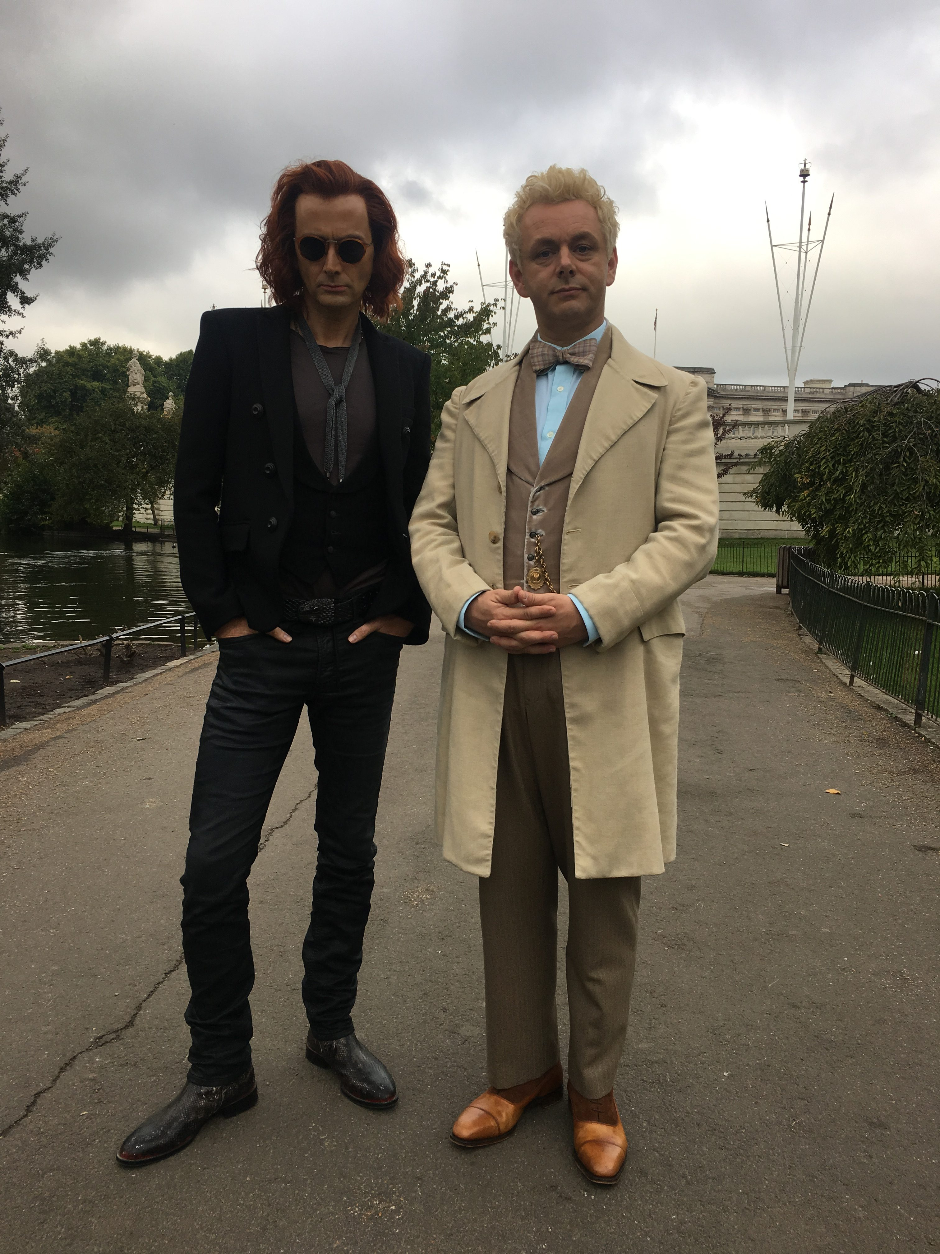 Our First Look at Michael Sheen, David Tennant in 'Good Omens'