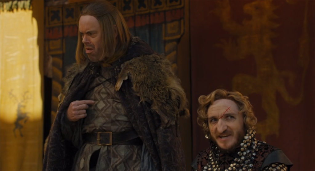 Fake Ned Stark and Fake Tyrion Lannister
