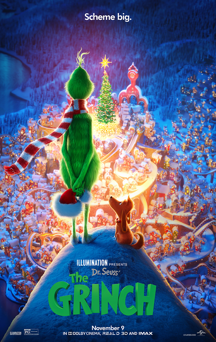 The Grinch Schemes Big in New Trailer