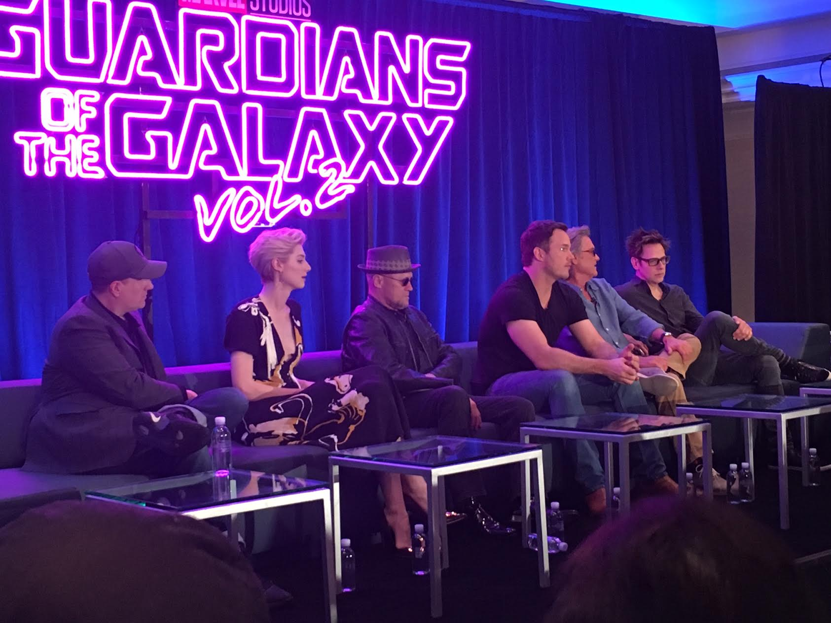 Recap of the Guardians of the Galaxy, Vol. 2 Press Junket