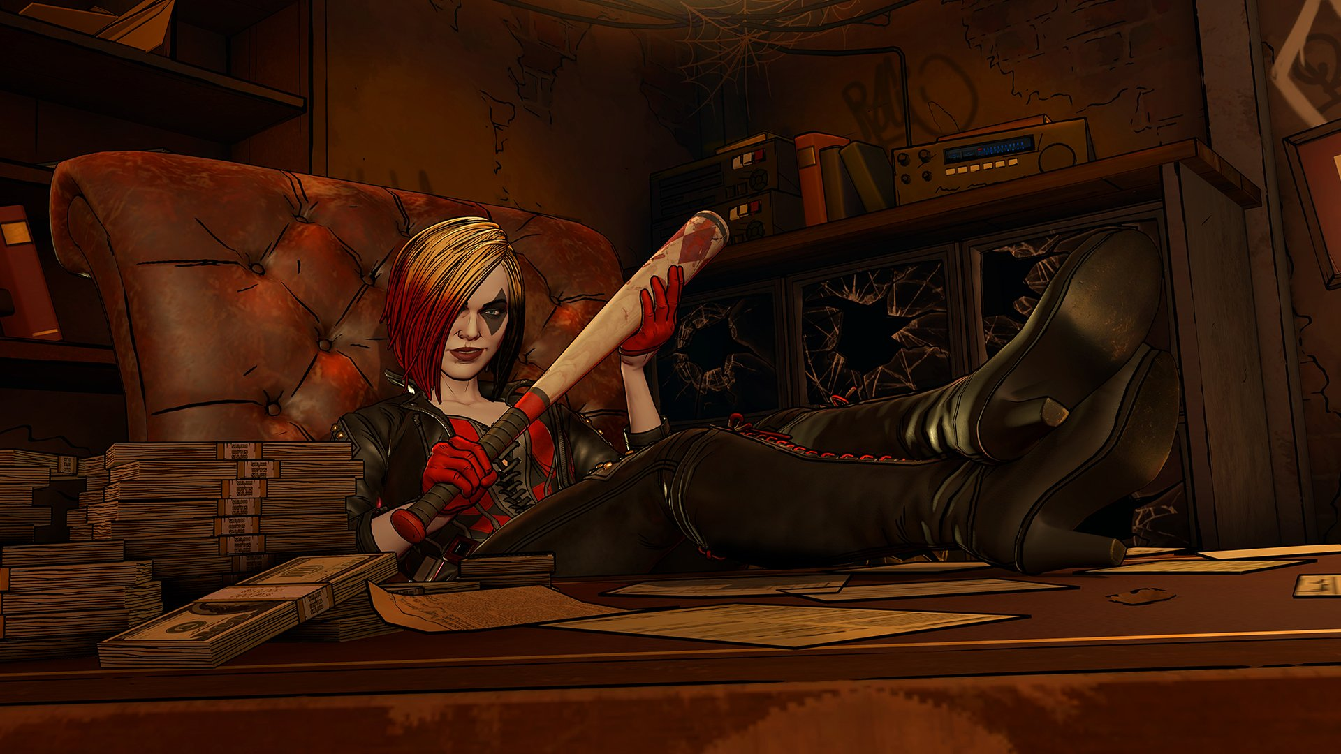 Harley Quinn Looks Like a Boss in Telltale's Batman: The Enemy Within