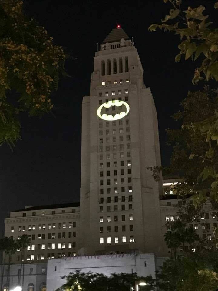 City of Los Angeles Pay Special Bat-Tribute to Adam West