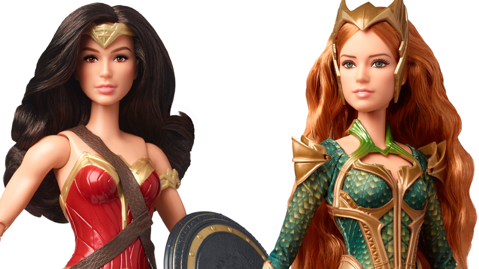 Mattel Reveals Wonder Woman and Mera Dolls for Justice League