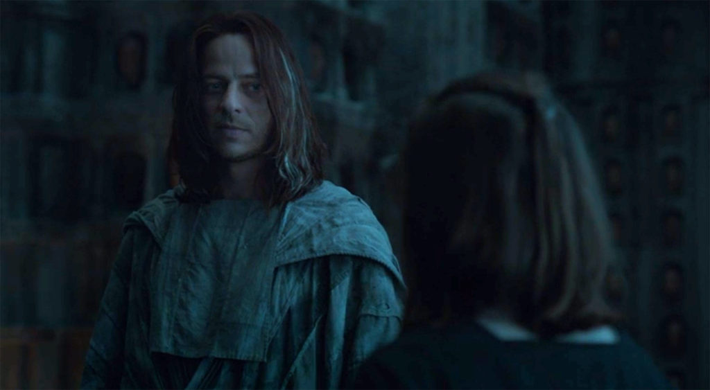 Jaqen has an assignment for Arya