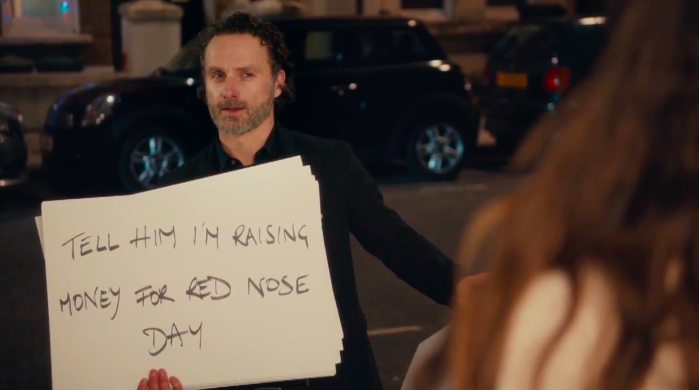 Love, Actually Cast Reunite for a Red Nose Day Special