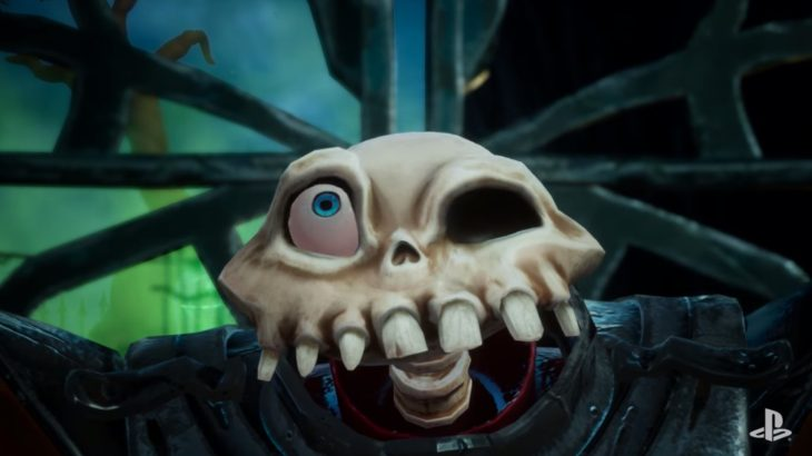 PlayStation releases an announcement trailer on Halloween for the remake of MediEvil