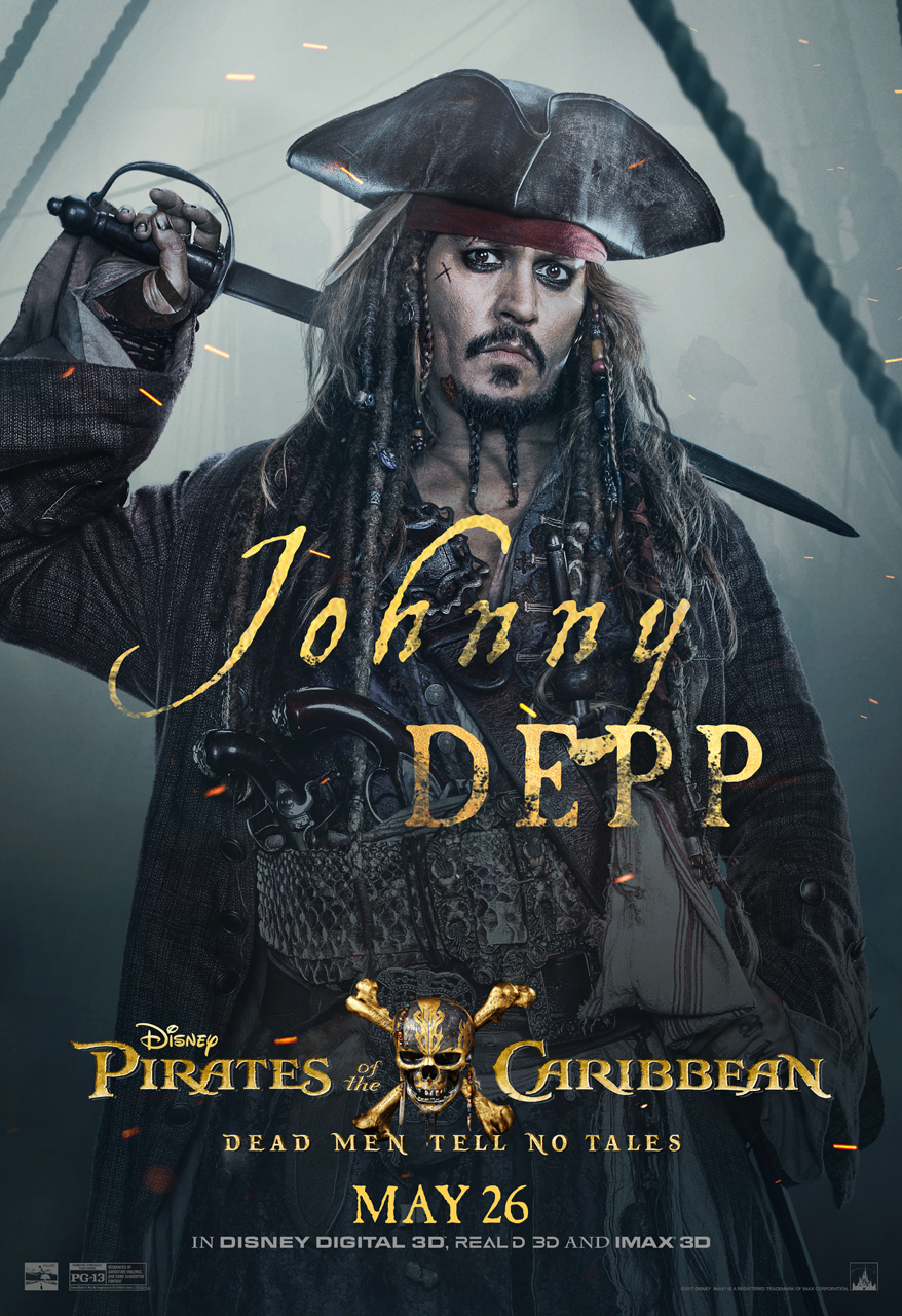 The fifth installment to the Pirates of the Caribbean series sets sail in  theaters in 3D cd1ec667c