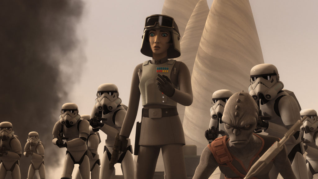 Check out new video and images from the upcoming Star Wars Rebels series finale