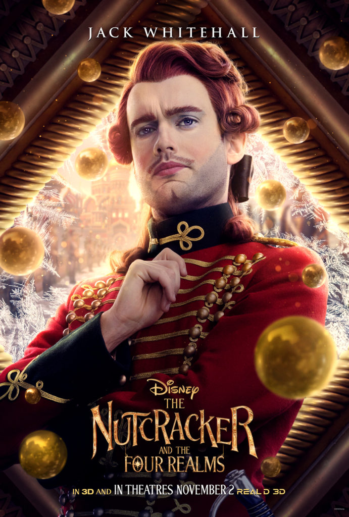 New character posters for The Nutcracker and the Four Realms