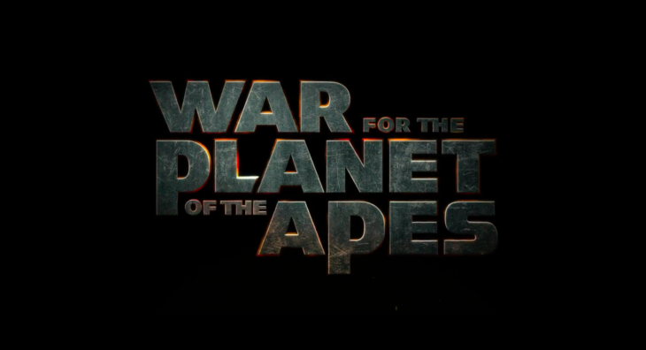 war for the planet of the apes title