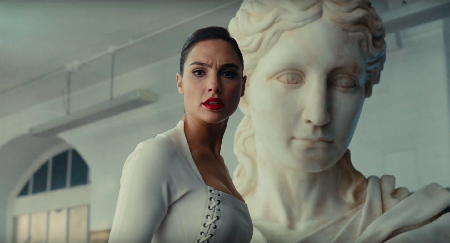 Another Justice League Teaser Features Wonder Woman