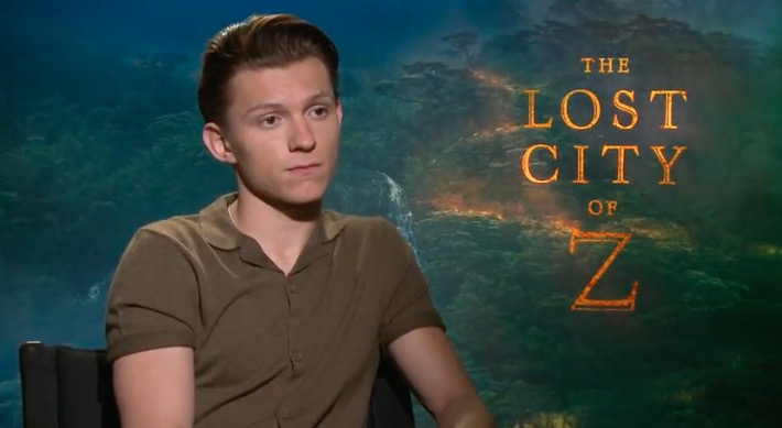 Interview: Tom Holland on The Lost City of Z