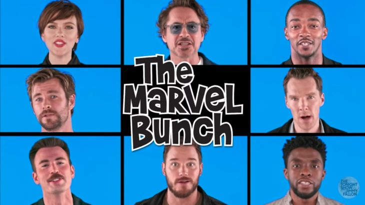 The cast of Avengers: Infinity War sings 'The Marvel Bunch'