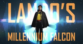 Take a Solo: A Star Wars Story tour of the Millennium Falcon with Lando!
