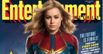 The new costume for Captain Marvel has been revealed