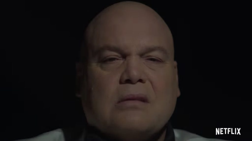 Wilson Fisk explains his return in a new teaser for Marvel's Daredevil