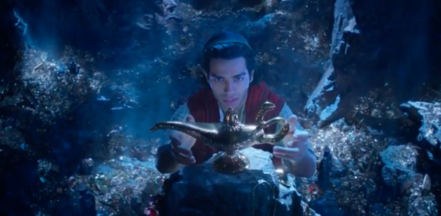 Watch the new teaser trailer for Aladdin with our first look at Mena Massoud