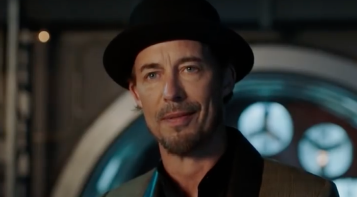 Tom Cavanagh as Harrison Sherloque Wells in The Death of Vibe