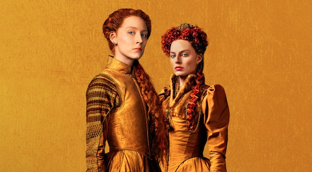 Check out the new poster for Mary Queen of Scots